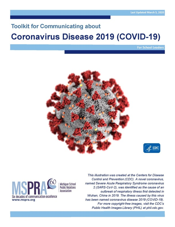 Toolkit for Communicating about Coronavirus Disease 2019 (COVID-19) developed for schools by MSPRA